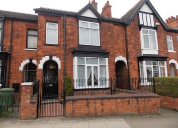 Thumbnail 4 bed terraced house for sale in Manor Avenue, Grimsby