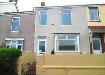 Thumbnail 3 bedroom terraced house to rent in Ysgol Street, Port Tennant, Swansea, City And County Of Swansea.