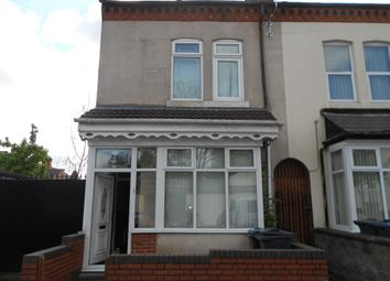 Thumbnail 4 bed terraced house to rent in Whitby Road, Birmingham