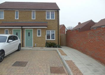 Thumbnail 2 bed semi-detached house for sale in Red Clover Close, Stone Cross, Pevensey