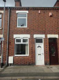 Thumbnail 2 bed terraced house to rent in Selwyn Street, Stoke On Trent