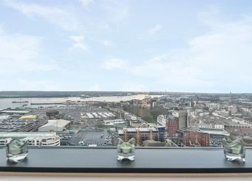 Thumbnail 2 bedroom flat to rent in The Moresby Tower, Admirals Quay, Ocean Way, Ocean Village, Southampton