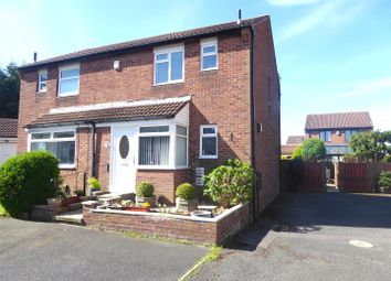Thumbnail 3 bedroom semi-detached house to rent in Castlebay Court, Darlington