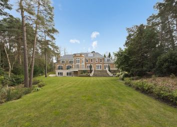 Thumbnail 6 bed detached house to rent in Camp End Road, St Georges Hill, Weybridge. Surrey.