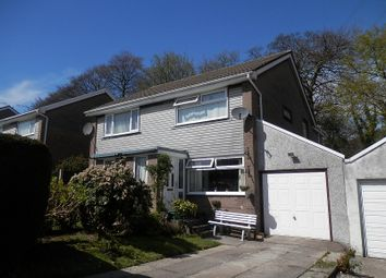 Thumbnail 3 bed semi-detached house for sale in Heol Caerllion, Parc Gwernfadog, Morriston, Swansea.