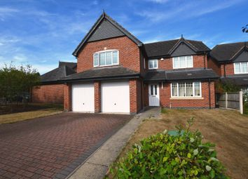 Thumbnail 5 bed detached house for sale in Villa Farm Close, High Heath, Market Drayton