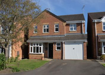 Thumbnail 4 bed detached house for sale in Yoxall Drive, Derby
