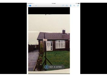 Thumbnail 2 bed bungalow to rent in Warwick Road, Middleton, Manchester
