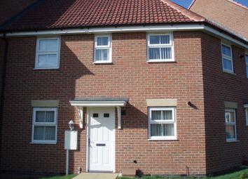 Thumbnail 2 bedroom flat to rent in Dale Crescent, Fernwood, Newark