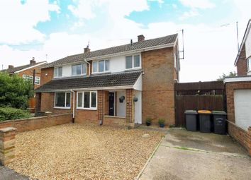 Thumbnail 3 bed semi-detached house for sale in Knights Avenue, Clapham, Bedford