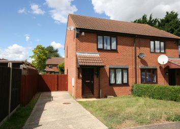 Thumbnail 2 bed semi-detached house for sale in Camrose Road, Northampton