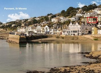 Thumbnail 2 bed flat for sale in 15 Commercial Road, St Mawes, Truro