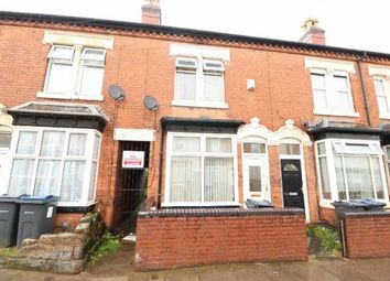 Thumbnail 3 bed terraced house for sale in Uplands Road, Handsworth