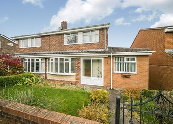 Thumbnail 3 bed semi-detached house for sale in Meldon Way, Winlaton, Blaydon-On-Tyne