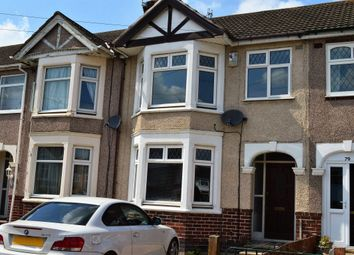 Thumbnail 3 bed terraced house to rent in Redesdale Avenue, Coundon, Coventry