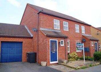 Thumbnail 2 bed semi-detached house to rent in Lichfield Road, Bracebridge Heath, Lincoln