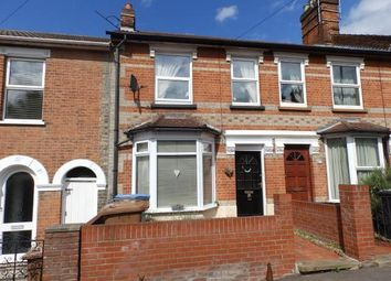 Thumbnail 2 bedroom terraced house for sale in St. Johns Road, Ipswich