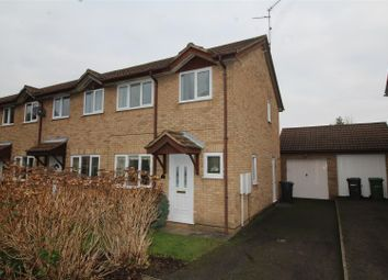 Thumbnail 3 bedroom end terrace house for sale in Bowness Way, Gunthorpe, Peterborough