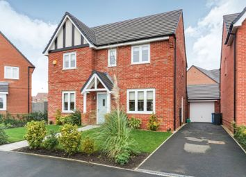 Thumbnail 4 bed detached house for sale in Semington View, Manchester