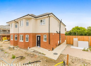 Thumbnail 4 bed semi-detached house for sale in Craigwell Avenue, Feltham