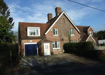 Thumbnail 3 bed semi-detached house for sale in Vinehall Road, Mountfield, Robertsbridge, East Sussex