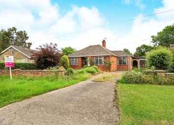 Thumbnail 3 bed detached bungalow for sale in Hall Moor Road, Hingham, Norwich