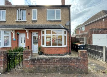 Thumbnail 3 bed semi-detached house for sale in Silverdale Street, Kempston, Bedford