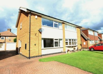 Thumbnail 3 bed semi-detached house for sale in Elswick Drive, Beeston, Nottingham