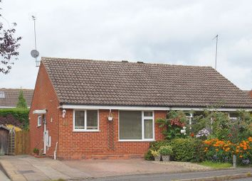 Thumbnail 2 bed semi-detached bungalow for sale in Meriden Close, Winyates Green, Redditch, Worcestershire