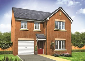 "Thumbnail 4 bed detached house for sale in ""The Downing"" at Norwich Road, Wymondham"