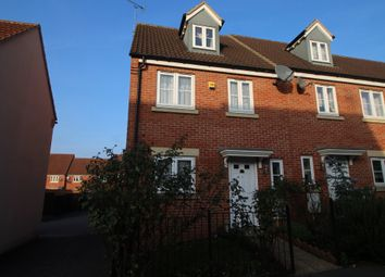 Thumbnail 3 bed end terrace house to rent in Coppice Close, Chippenham