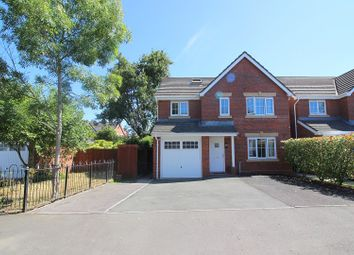 Thumbnail 5 bed detached house for sale in Waterton Close, Waterton, Bridgend.