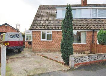 Thumbnail 4 bed semi-detached bungalow for sale in Fir Tree Close, Thorpe Willoughby, Selby