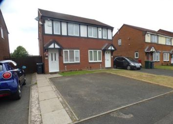 Thumbnail 2 bedroom semi-detached house for sale in Pimpernel Drive, Walsall, West Midlands