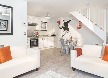 """Thumbnail 2 bed terraced house for sale in """"Amber"""" at The Ridge, London Road, Hampton Vale, Peterborough"""