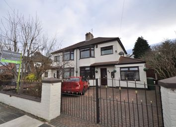 Thumbnail 3 bed semi-detached house for sale in Loretto Drive, Upton, Wirral