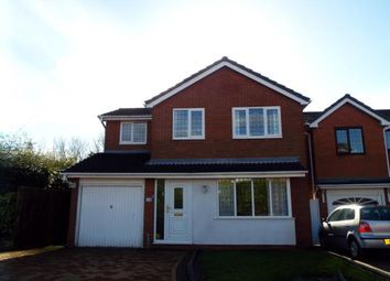 Thumbnail 4 bed detached house for sale in Clover Meadows, Cannock, Staffordshire