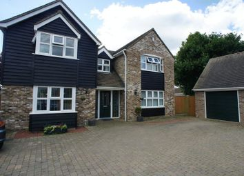 Thumbnail 4 bed detached house to rent in Church Road, Elmstead, Colchester