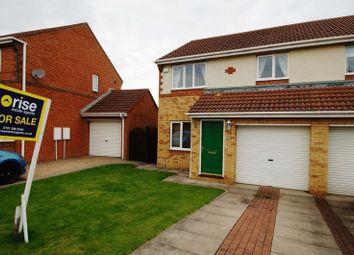 Thumbnail 3 bed semi-detached house for sale in Meadow Green, Spennymoor
