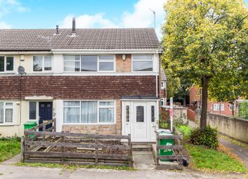 Thumbnail 2 bed end terrace house for sale in Abercarn Close, Bulwell, Nottingham