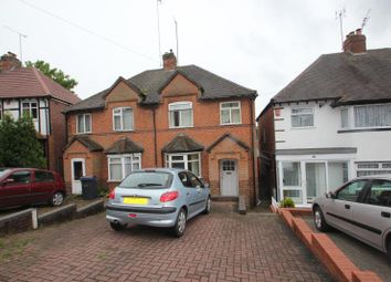 Thumbnail 2 bed semi-detached house to rent in Woodleigh Avenue, Harborne, Birmingham