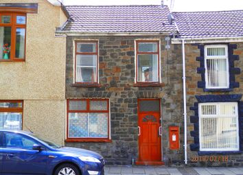 Thumbnail 2 bed terraced house for sale in High Street, Treorchy, Rhondda Cynon Taff.