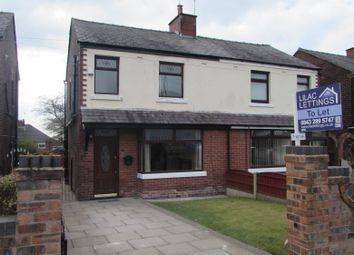 Thumbnail 3 bed semi-detached house to rent in Rainford Road, Billinge, Nr Wigan