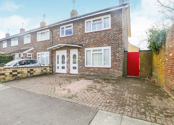 Thumbnail 3 bedroom end terrace house for sale in Brewer Road, Southgate, Crawley