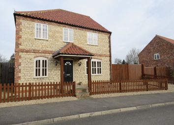 Thumbnail 4 bed detached house for sale in Holt Farm Paddock, Swinderby, Lincoln