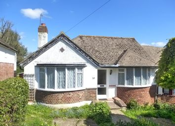 Thumbnail 2 bed semi-detached bungalow for sale in Bidwell Avenue, Bexhill-On-Sea