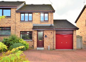 Thumbnail 3 bed semi-detached house for sale in Elmhurst, Motherwell
