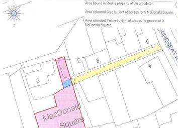 Land for sale in Land Mcdonald Square, Dunfermline KY11