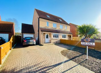 Thumbnail 4 bed semi-detached house for sale in St. Johns Road, Spalding