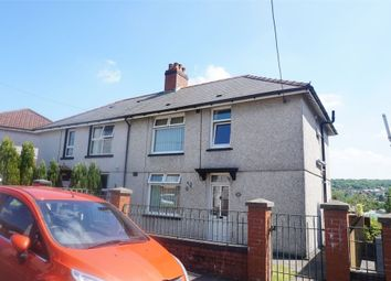 Thumbnail 3 bed semi-detached house for sale in Glanddu Terrace, Tir-Y-Berth, Hengoed